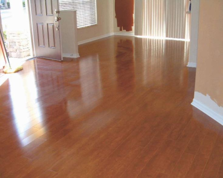 Glossy finish flooring, wooden flooring in bangalore