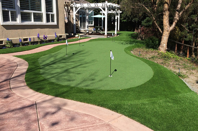 Artificial Turf or artificial grass near me by indiana