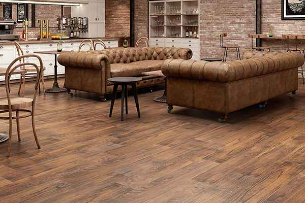 Laminate flooring 12+1mm by indiana myfloor brand with EIR finish French BARNWOOD
