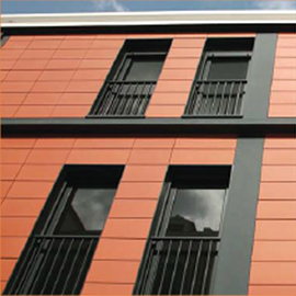 Terracotta Facade - terragraf out door , nbk terracotta a product of indiana