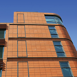 Terracotta Facade - terragraf out door , 	argeton a product of indiana