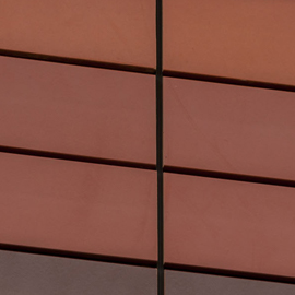 Terracotta Facade - terragraf out door , wienerberger porotherm a product of indiana
